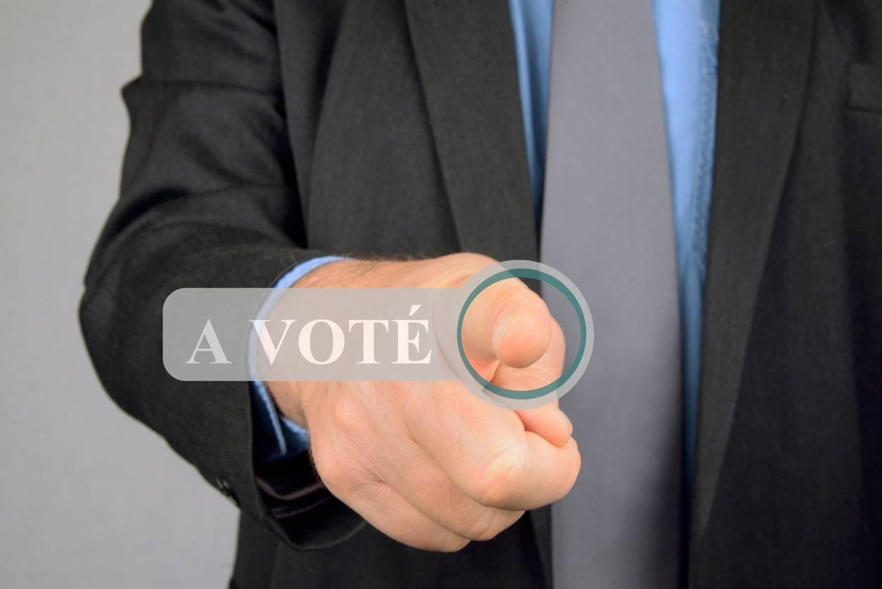 Vote électronique télétravail