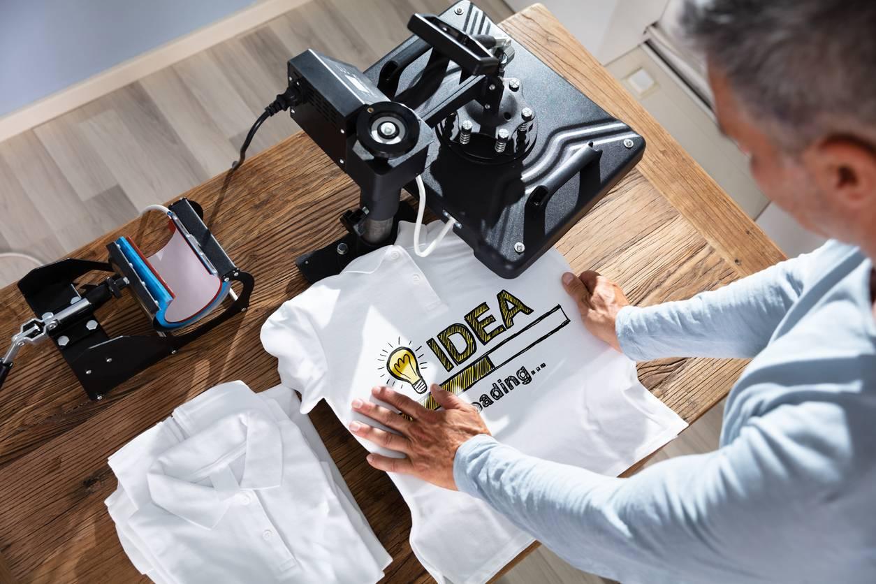 marquage numérique, t-shirt